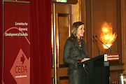 CEDA CONFERENCE WITH GUEST SPEAKER BETHANY  MC LEAN.