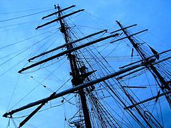 GERMANY SCHLESWIG-HOLSTEIN ECKERNFOERDE 21MAY06 - Masts of sailing ships in the port of Eckernfoerde...jre/Photo by Jiri Rezac....© Jiri Rezac 2006
