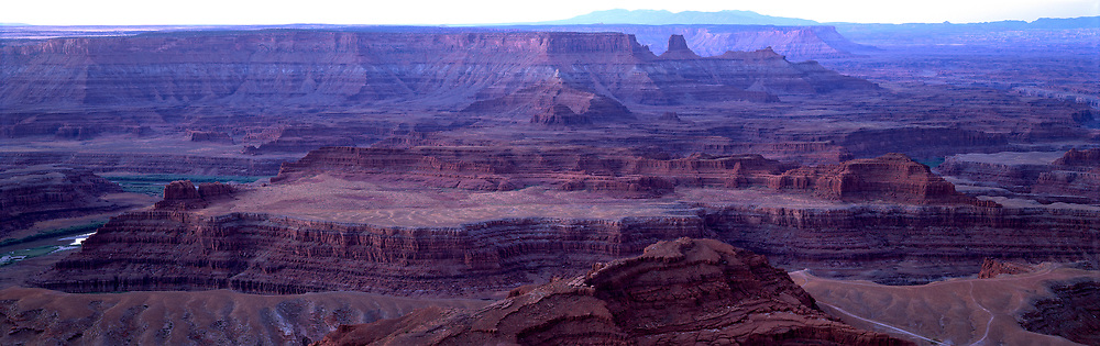 Early morning view of Canyonlands