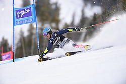 06.12.2015, Birds of Prey Course, Beaver Creek, USA, FIS Weltcup Ski Alpin, Beaver Creek, Riesenslalom, Herren, 1. Lauf, im Bild Giovanni Borsotti (ITA) // Giovanni Borsotti of Italy during the first run of mens Giant Slalom of the Beaver Creek FIS Ski Alpine World Cup at the Birds of Prey Course in Beaver Creek, United States on 2015/12/06. EXPA Pictures © 2015, PhotoCredit: EXPA/ Erich Spiess