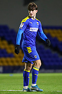 AFC Wimbledon attacker Ryan Longman (29) looking over shoulder during the EFL Sky Bet League 1 match between AFC Wimbledon and Bristol Rovers at Plough Lane, London, United Kingdom on 5 December 2020.
