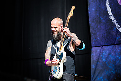 June 15, 2018 - Firenze, Firenze, Italy - The American heavy metal band Baroness performing live on stage at the Firenze Rock Festival 2018, opening for Guns and Roses. (Credit Image: © Alessandro Bosio/Pacific Press via ZUMA Wire)