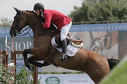 Bradt Quinten (BEL) - Faemes van t Poelzelhof<br /> FEI European Jumping Championship for young riders <br /> Arezzo 2014<br /> © Hippo Foto - Stefano Secchi