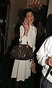 Erin o'Connor, Biba after-show party organised by Quinessentially.  Royal Duchess Palace, 16 Mansfield Street, London W1. 19 September 2006.  ONE TIME USE ONLY - DO NOT ARCHIVE  © Copyright Photograph by Dafydd Jones 66 Stockwell Park Rd. London SW9 0DA Tel 020 7733 0108 www.dafjones.com