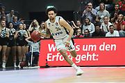 Basketball: 1. Bundesliga, Hamburg Towers - Hakro Merlins Crailsheim 91:92, Hamburg, 29.02.2020<br /> Michael Carrera (Towers)<br /> © Torsten Helmke