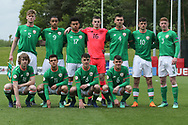 Republic of Ireland team photo during the UEFA European Under 17 Championship 2018 match between Bosnia and Republic of Ireland at Stadion Bilino Polje, Zenica, Bosnia and Herzegovina on 11 May 2018. Picture by Mick Haynes.