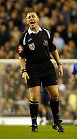 Photo: Ed Godden.<br /> Tottenham Hotspur v Chelsea. The Barclays Premiership. 05/11/2006. Referee Graham Poll.