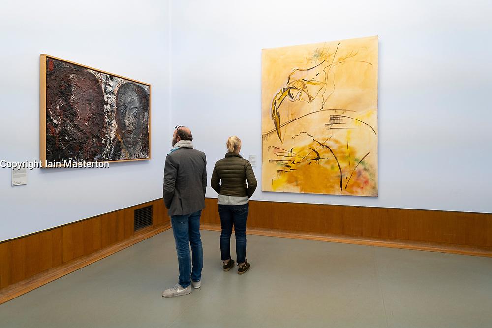 Interior of  the Museum Boijmans van Beuningen in Rotterdam The Netherlands