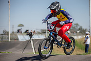 #141 (SAETAE Waranya) THA  at Round 9 of the 2019 UCI BMX Supercross World Cup in Santiago del Estero, Argentina