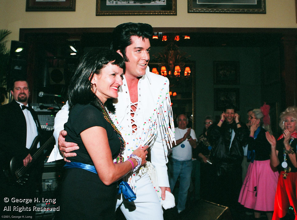 Tom and Diane Winingder's Bacchus Mardi Gras party at Mike Ditka's restaurant on St. Charles Avenue in New Orleans, Louisiana