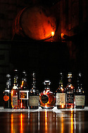 A selection of apple brandy at Rickhouse, a cocktail lounge in San Francisco's Financial District, Tuesday, November 10, 2009..