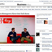 """Screengrab of """"Irish Tech Industry"""" published in The New York Times"""
