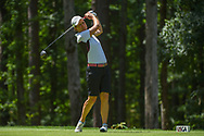 Catriona Matthew (SCT) watches her tee shot on 2 during round 1 of the U.S. Women's Open Championship, Shoal Creek Country Club, at Birmingham, Alabama, USA. 5/31/2018.<br /> Picture: Golffile | Ken Murray<br /> <br /> All photo usage must carry mandatory copyright credit (© Golffile | Ken Murray)