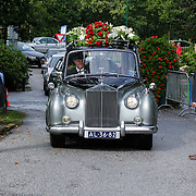NLD/Leusden/20120920- Uitvaart Joop van Tellingen, rouwauto