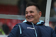 Sutton United manager Paul Doswell prior The FA Cup match between Sutton United and AFC Wimbledon at Gander Green Lane, Sutton, United Kingdom on 7 January 2017. Photo by Stuart Butcher.