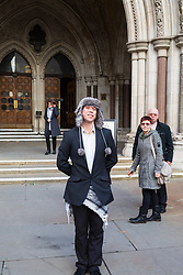 London - Alleged computer hacker Lauri Love arrives at the Royal Courts of Justice in London , pushing a mobile sound system playing electronic music, to find out whether he has successfully challenged a ruling that he can be extradited to the US, following allegations that he hacked United States government websites. February 05 2018.