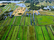 Nederland, Zuid-Holland, Achttienhoven, 14-09-2019; Plassengebied rond de Meije, Wijde van Vliet.<br /> Water area, peat meadow landscape, border Utrecht Zuid-Holland.<br /> <br /> luchtfoto (toeslag op standard tarieven);<br /> aerial photo (additional fee required);<br /> copyright foto/photo Siebe Swart