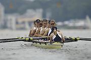 Poznan, POLAND.  2006, FISA, Rowing World Cup, GBR W8+ bow Baz MOFFAT, Alison  KNOLWES, Vicki ETIEBET, Carla ASHFORD, Natasha HOWARD,  Natashe  PAGE, Katie GREVES, Elise LAVERICK, cox  Caroline O'CONNER.  move away from the start pontoon at the   'Malta Regatta course;  Poznan POLAND, Fri. 16.06.2006. © Peter Spurrier   ....[Mandatory Credit Peter Spurrier/ Intersport Images] Rowing Course:Malta Rowing Course, Poznan, POLAND