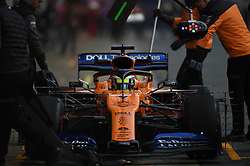 February 19, 2019 - Barcelona, Spain - English driver Lando Norris of English team McLaren F1 Team driving his single-seater MCL34 during Barcelona winter test in Catalunya Circuit in Montmel?, Spain, on February 19, 2019. (Credit Image: © Andrea Diodato/NurPhoto via ZUMA Press)