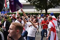 EURO 2020  Football fans at  Wembley Stadium, London, UK photo by Krisztian  Elek