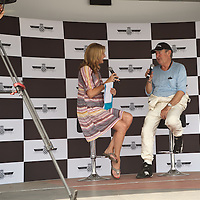 Louise Goodman interviewing Nick Mason at the Goodwood Festival of Speed 2013