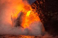 Hawaii Volcano Lava eruption photography
