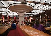 Restaurant onboard Stena Ferry, Harwich, Essex, England