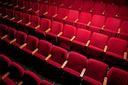 Empty theatre hall