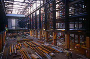The redevelopment phase of the Turbine Hall at the former power station now known as Tate Modern art gallery, on 6th March 1998, on London's Southbank, England.