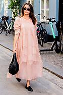 Street style during Copenhagen Fashion Week SS21