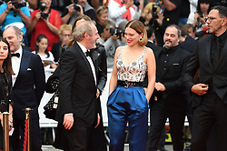 May 22, 2019 - Cannes, France - 72eme Festival International du Film de Cannes. Montée des marches du film ''Roubaix, une lumiere (Oh Mercy!)''. 72th International Cannes Film Festival. Red Carpet for ''Roubaix, une lumiere (Oh Merci!)'' movie.....239728 2019-05-22  Cannes France.. Zem, Roschdy; Desplechin, Arnaud; Seydoux, Léa (Credit Image: © L.Urman/Starface via ZUMA Press)