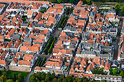 Nederland, Gelderland, Zeewolde, 05-08-2014; Elburg, voormalige vissersplaats en Hanzestad. Middeleeuwse vesting.<br /> Elburg, former fishing village and Hanseatic city. Medieval fortress.<br /> luchtfoto (toeslag op standard tarieven);<br /> aerial photo (additional fee required);<br /> copyright foto/photo Siebe Swart