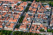 Nederland, Gelderland, Zeewolde, 05-08-2014; Elburg, voormalige vissersplaats en Hanzestad. Middeleeuwse vesting.<br /> Elburg, former fishing village and Hanseatic city. Medieval fortress.<br /> luchtfoto (toeslag op standard tarieven);<br /> aerial photo (additional fee required);<br /> copyright foto/photo Siebe Swart