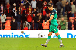 Tottenham Hotspur's Jan Vertonghen appears dejected after the final whistle