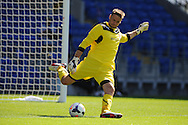 Cardiff city's goalkeeper David Marshall in action. Pre season friendly match, Cardiff city v Athletic Club Bilbao at the Cardiff city stadium in Cardiff,  South Wales on Saturday 10th August 2013. pic by Andrew Orchard,  Andrew Orchard sports photography,