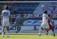 Photo:Alan Crowhurst.<br />Crystal Palace v Sampdoria,Pre season friendly,07/08/2004.Sergio Volpi scores direct from a free kick leaving Julian Speroni no chance.