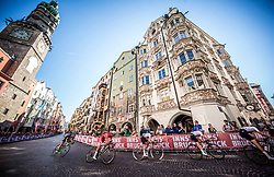 HIRSCHI Marc and RUEGG Lukas of Switzerland during the Men Under 23 Road Race 179.9km Race from Kufstein to Innsbruck 582m at the 91st UCI Road World Championships 2018 / RR / RWC / on September 28, 2018 in Innsbruck, Austria.  Photo by Vid Ponikvar / Sportida