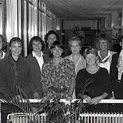 NLD/Huizen/19911010 - Alle vrouwelijke raadsleden en wethouders van de Huizer gemeenteraad