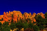 Red Canyon, near Bryce Canyon National Park, Utah USA