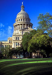 Stock photo of the State Capitol building in Austin, Texas