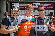 #313 (KIMMANN Niek) NED wins Round 10 of the 2019 UCI BMX Supercross World Cup in Santiago del Estero, Argentina