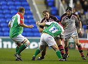 Reading, GREAT BRITAIN, <br />  during the third round Heineken Cup game, London Irish vs Ulster Rugby, at the Madejski Stadium, Reading ENGLAND, Sat., <br /> 09.12.2006. [Photo Peter Spurrier/Intersport Images]