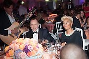KEVIN SPACEY; EMILIE SANDE; , Grey Goose Winter Ball to benefit the Elton John Aids Foundation. Battersea Power Station. London. 10 November 2012.