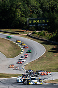 September 30-October 1, 2011: Petit Le Mans at Road Atlanta. 20 Butch Leitzinger, Steven Kane, Humaid Al Masaood,  Lola B09/86 Mazda, Dyson Racing
