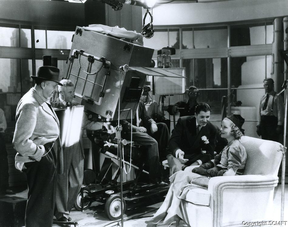 1937 Filming at United Artist Studios