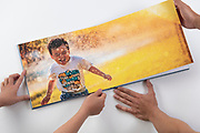 Evoke photobooks in Hive studio, Hong Kong, China, on 22 April 2019. Photo by Lucas Schifres/Studio East