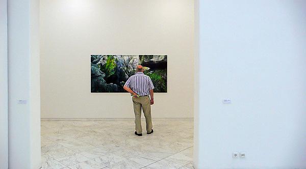 Duitsland, Bedburg Hau, 9-8-2010Museum Schloss Moyland, waar naast wisselende tentoonstellingen de collectie van de gebroeders van der Grinten is ondergebracht. Zij bezaten veel werk van de Duitse kunstenaar Joseph Beuys.Foto: Flip Franssen/Hollandse Hoogte