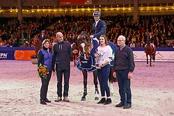 Moerings Bas, NED, Ipsthar<br /> KWPN Stallionshow - 's Hertogenbosch 2018<br /> © Hippo Foto - Dirk Caremans<br /> 01/02/2018