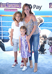 July 1, 2018 - Los Angeles, California, USA - 6/30/18.Kendra Wilkinson with her son Hank Baskett IV and her daughter Alijah Mary Baskett at the premiere of ''Hotel Transylvania 3: Summer Vacation'' held at the Westwood Village Theatre in Los Angeles, CA. (Credit Image: © Starmax/Newscom via ZUMA Press)