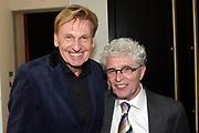 Jubileumviering van 15 jaar VandenEnde Foundation en 5 jaar DeLaMar.<br /> <br /> Op de foto:  Henny Huisman en Jacques d' Ancona